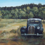 Forgotten Roads Of Bygone Days oil painting
