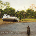 Along The ICW (Inter Coastal Waterway) artwork