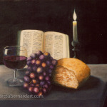 The Communion Table oil painting