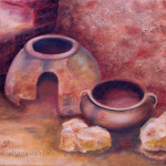 Irong Age Pottery Still Life