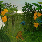 Henri Rousseau's The Repast of the Lion