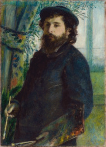 claude monet portrait painting