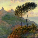 monet sunset painting
