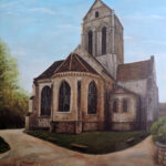 Van Gogh's Church at Auvers, France oil painting