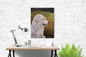 large-white-dog-desk-lamp-white-brick-wall