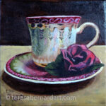 Great Grandmas Tea Cup by Teresa Bernard