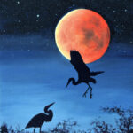 Fly Me To The Moon painting by Teresa Bernard