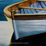 bow of the boat painting